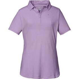 Schöffel Scheinberg Polo Shirt Women purple gumdrop